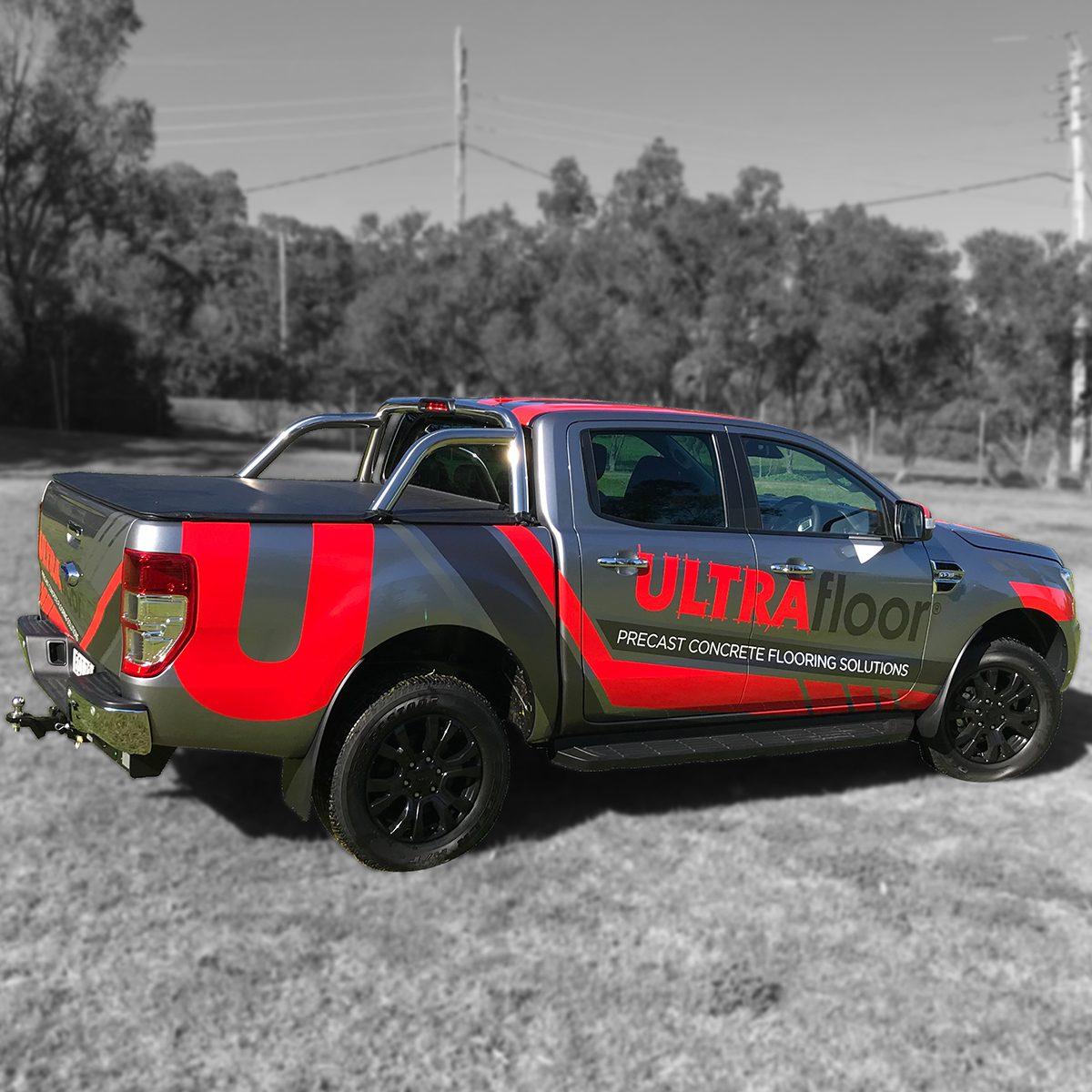 UltraFloor, Ford ranger, xlt
